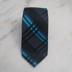 J. Ferrar Men's Hand Made Striped Tie